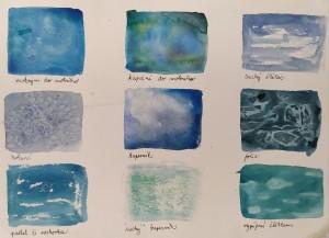 akvarel - různé techniky